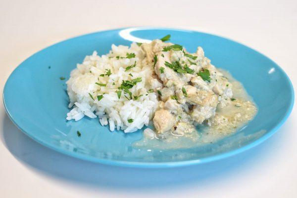Frango Maçã e Arroz Thai - Alimentação infantil saudável Bebé Gourmet