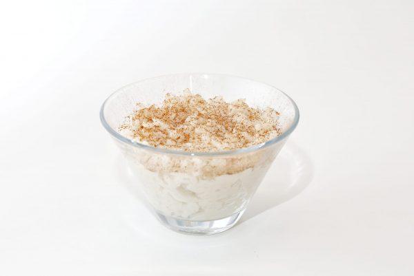 arroz doce - comida para bebé gourmet