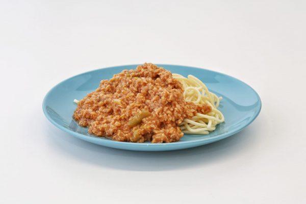 Bolonhesa-de-Soja-com-esparguete-comida-para-bebé-gourmet
