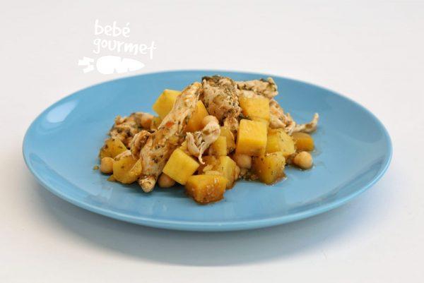Frango com Batata-Doce comida para bebé Gourmet