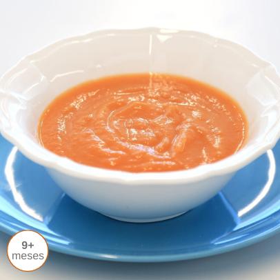 Sopa para bebé gourmet